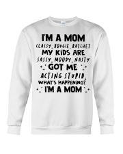 ONLY 17 TODAY- I'M A MOM SHIRT Crewneck Sweatshirt thumbnail