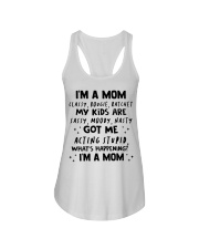 ONLY 17 TODAY- I'M A MOM SHIRT Ladies Flowy Tank thumbnail