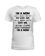 ONLY 17 TODAY- I'M A MOM SHIRT Ladies T-Shirt thumbnail