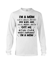 ONLY 17 TODAY- I'M A MOM SHIRT Long Sleeve Tee thumbnail