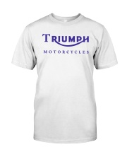 TRIUMPH MOTORCYCLES   Classic T-Shirt front