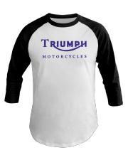 TRIUMPH MOTORCYCLES   Baseball Tee thumbnail
