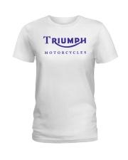 TRIUMPH MOTORCYCLES   Ladies T-Shirt thumbnail