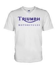 TRIUMPH MOTORCYCLES   V-Neck T-Shirt thumbnail