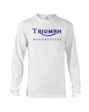 TRIUMPH MOTORCYCLES   Long Sleeve Tee thumbnail