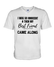 I WAS SO INNOCENT V-Neck T-Shirt thumbnail