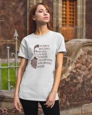 WOMEN BELONG IN PLACE Classic T-Shirt apparel-classic-tshirt-lifestyle-06