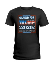 OLIFIELD FOR TRMP 2020 Ladies T-Shirt thumbnail