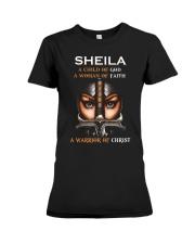 Sheila Child of God Premium Fit Ladies Tee thumbnail