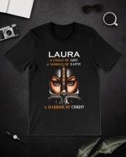 Laura Child of God Classic T-Shirt lifestyle-mens-crewneck-front-16