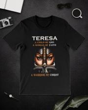 Teresa Child of God Classic T-Shirt lifestyle-mens-crewneck-front-16
