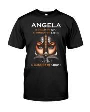 Angela Classic T-Shirt front