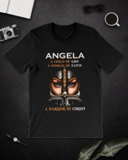 Angela Classic T-Shirt lifestyle-mens-crewneck-front-16