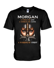 Morgan Child of God V-Neck T-Shirt thumbnail