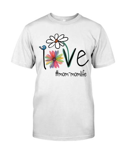 Love Mom-Mom Life - Flower Art