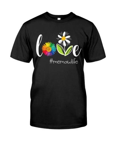 Flower - Love Memaw Life DC