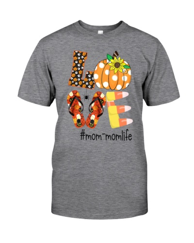 Love mom-mom life- Halloween sunflower