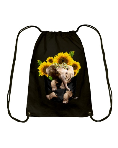Cute Elephant Sunflower