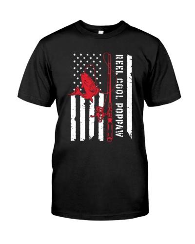 Reel Cool Poppaw - American Flag