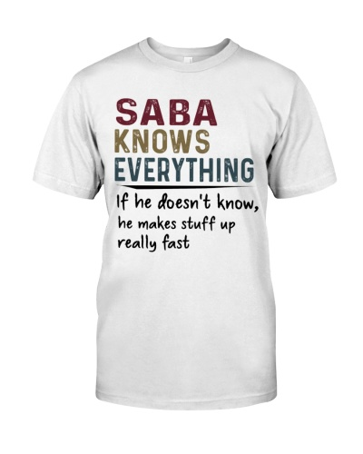 Saba Knows Everything - New V1