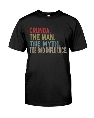 Grunda The Man The Myth The Bad Influence ds