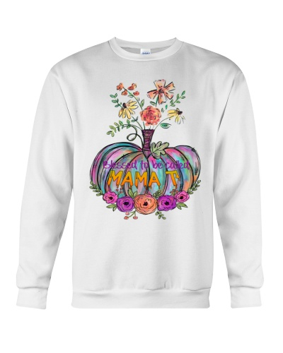 Blessed Mama T - Halloween Flower