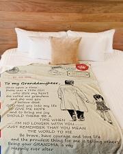 """blanket5 Large Fleece Blanket - 60"""" x 80"""" aos-coral-fleece-blanket-60x80-lifestyle-front-02"""