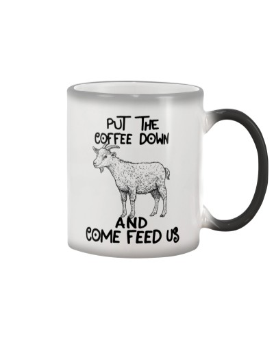 Put The Cofee Down Goat