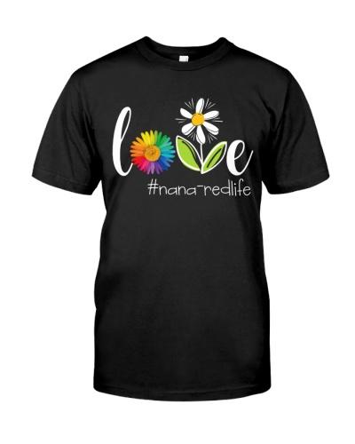 Flower - Love Nana-Red Life Dc