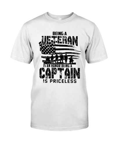Veteran - Being A Captain Is Priceless  New