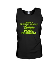 Pool problem Unisex Tank thumbnail