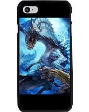 Monster Hunter World Video Game Graphic Art Poster Phone Case thumbnail