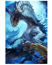 Monster Hunter World Video Game Graphic Art Poster 11x17 Poster front