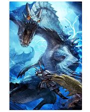 Monster Hunter World Graphic Video Game Poster 11x17 Poster front