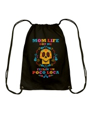 Mom Life 01 Drawstring Bag thumbnail