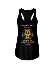 Mom Life 01 Ladies Flowy Tank thumbnail