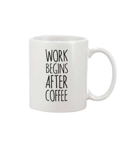 Work Begins After Coffee