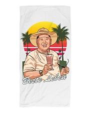 Beste Leben Strandtuch Beach Towel front