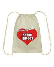 Tattoofrei Turnbeutel - Tasche Drawstring Bag front