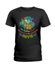 A LITTLE HIPPIE Ladies T-Shirt thumbnail