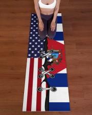 Cuba Yoga Mat Yoga Mat 24x70 (vertical) aos-yoga-mat-lifestyle-24