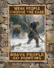 BRAVE PEOPLE GO HUNTING 24x36 Poster aos-poster-portrait-24x36-lifestyle-16