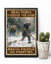 BRAVE PEOPLE GO HUNTING 24x36 Poster lifestyle-poster-8
