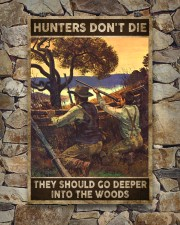 Hunters don't die They go deeper into the woods 24x36 Poster aos-poster-portrait-24x36-lifestyle-16