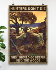Hunters don't die They go deeper into the woods 24x36 Poster aos-poster-portrait-24x36-lifestyle-19
