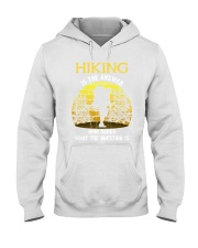 Hiking is the answer Hooded Sweatshirt thumbnail