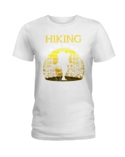 Hiking is the answer Ladies T-Shirt thumbnail