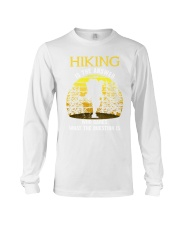 Hiking is the answer Long Sleeve Tee thumbnail