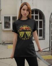 ON A DARK DESERT HIGHWAY Classic T-Shirt apparel-classic-tshirt-lifestyle-19