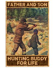 FATHER AND SON HUNTING BUDDY FOR LIFE 24x36 Poster front